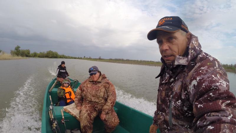 отчеты рыбалки астрахань май 2016