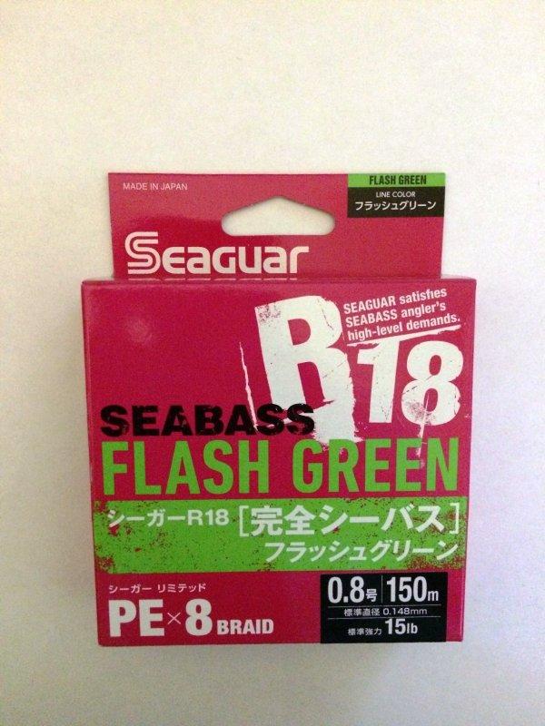 Kureha Seaguar R18 SeaBass X8 PE 150м 0.8 green.JPG