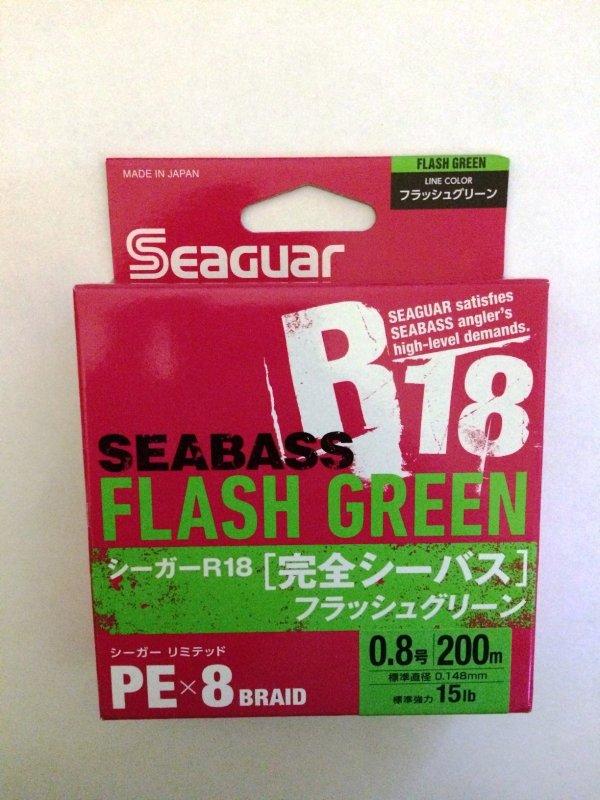 Kureha Seaguar R18 SeaBass X8 PE 200м 0.8 green.JPG