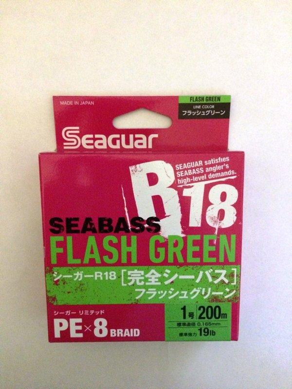 Kureha Seaguar R18 SeaBass X8 PE 200м 1.0 green.JPG