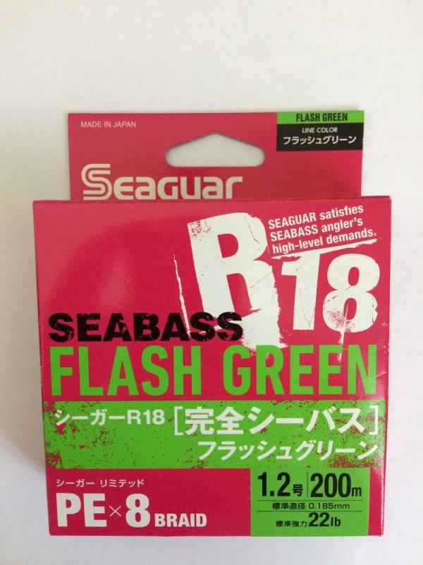 Kureha Seaguar R18 SeaBass X8 PE 200м 1.2 green.JPG