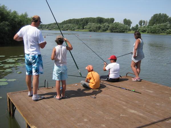 Рыбалка с проживанием в Подмосковье