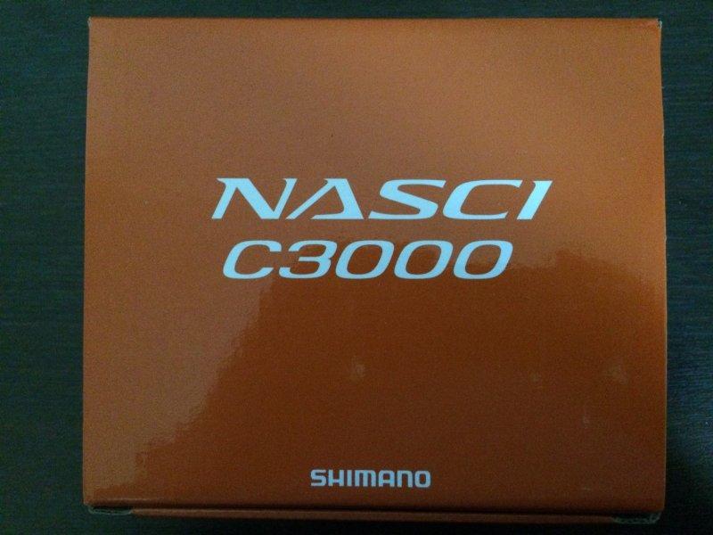 Shimano 16 Nasci C3000 - 1.JPG