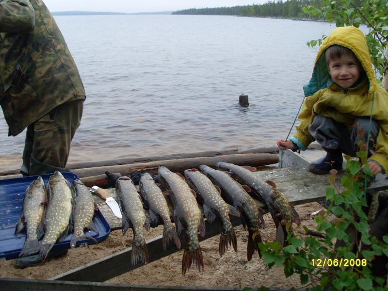 пяозеро рыболовная